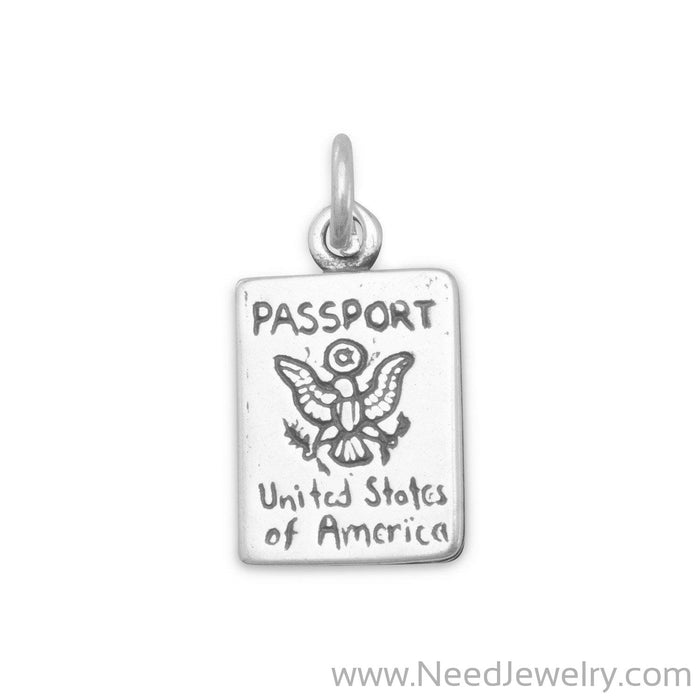 Passport Charm-Charms-Needjewelry.com