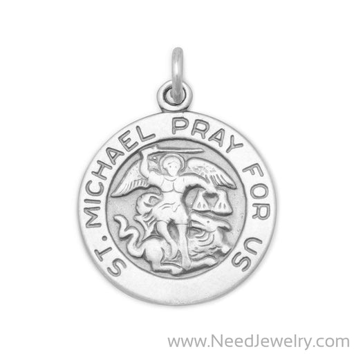 St. Michael Charm-Charms-Needjewelry.com