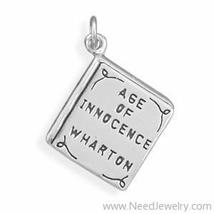 Age of Innocence Book Charm-Charms-Needjewelry.com