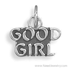 Good Girl Charm-Charms-Needjewelry.com