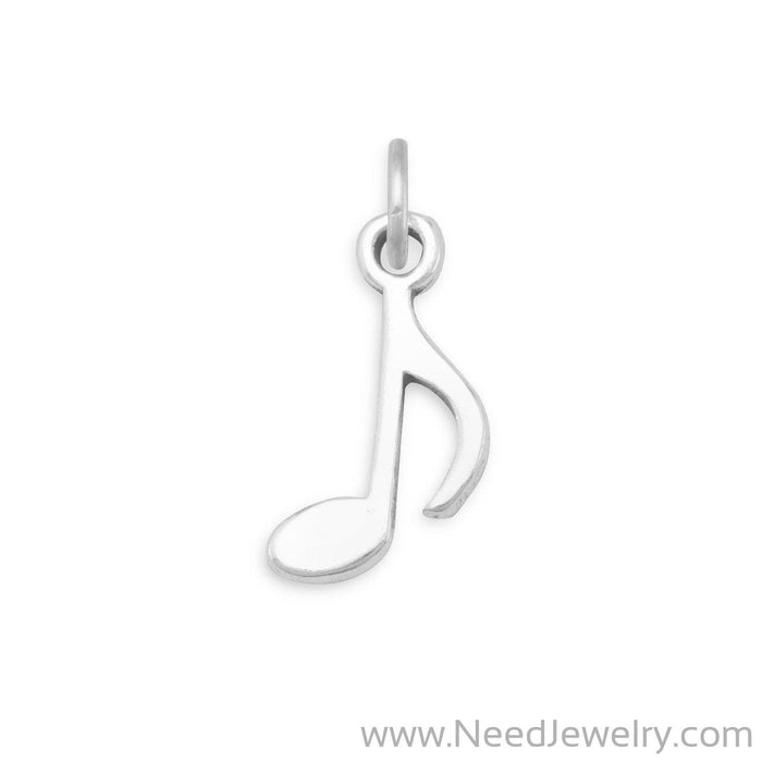 Musical 8th Note Charm-Charms-Needjewelry.com