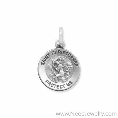 Small St. Christopher Charm-Charms-Needjewelry.com