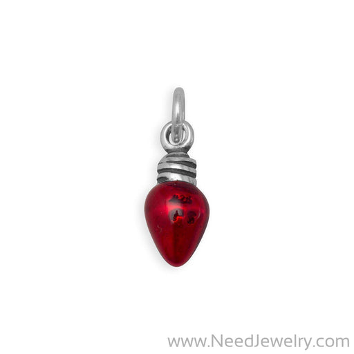 Christmas Light Bulb Charm-Charms-Needjewelry.com
