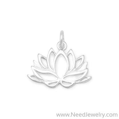 Lotus Flower Charm-Charms-Needjewelry.com