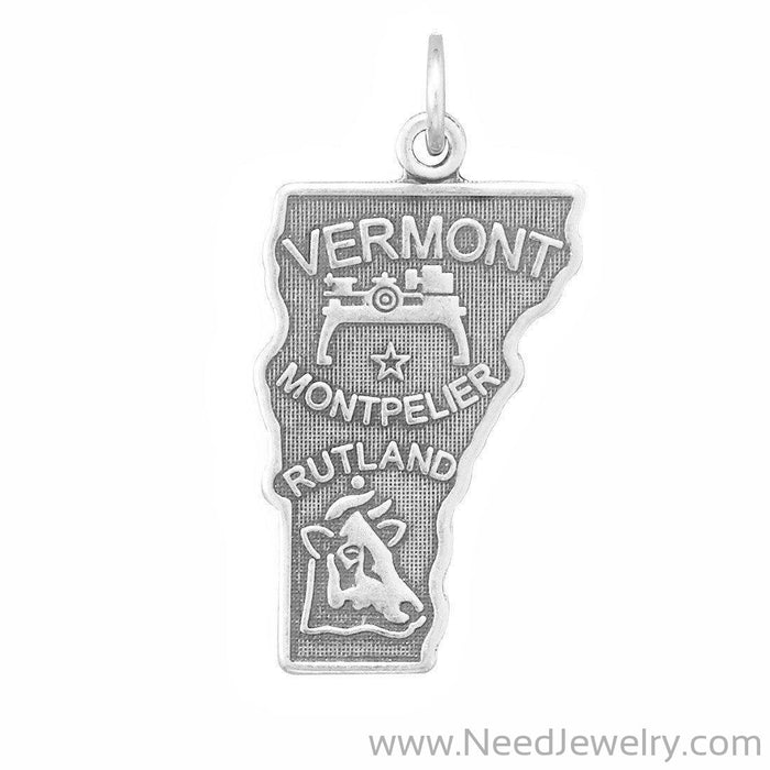 Vermont State Charm-Charms-Needjewelry.com