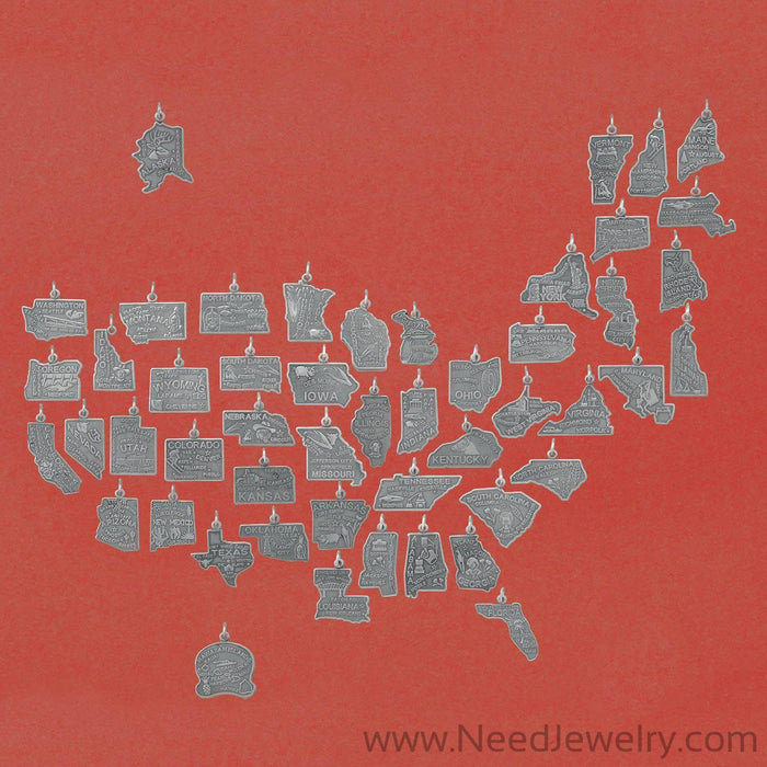 Washington State Charm-Charms-Needjewelry.com