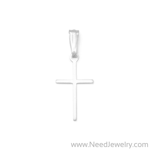 Extra Thin Cross Charm-Charms-Needjewelry.com