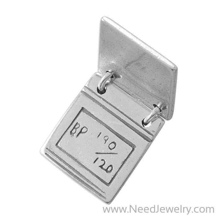Take a Peak! Movable Medical Chart Charm-Charms-Needjewelry.com