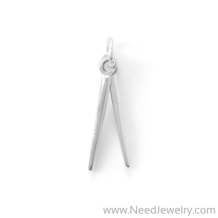 Drum Roll! Drum Sticks Charm-Charms-Needjewelry.com
