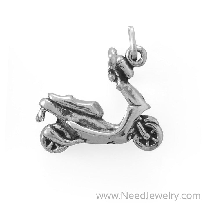 Zippy Moped Scooter Charm-Charms-Needjewelry.com