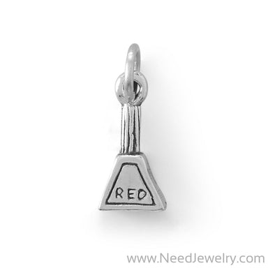 "Adorable ""Red"" Nail Polish Bottle Charm-Charms-Needjewelry.com"