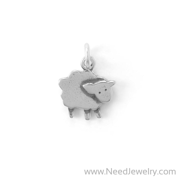 Cute Little Lamb Charm-Charms-Needjewelry.com