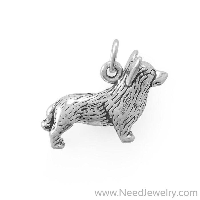 Short & Sweet! Corgi Charm-Charms-Needjewelry.com