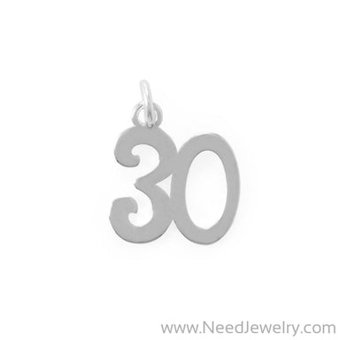 "Looking Good! ""30"" Charm-Charms-Needjewelry.com"