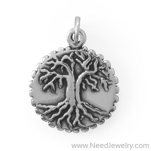 Family Roots Tree Charm-Charms-Needjewelry.com