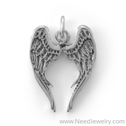 Pretty Angel Wings Charm-Charms-Needjewelry.com