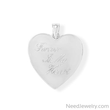 Item # [sku} - Forever In My Heart Memory Keeper Locket on NeedJewelry.com
