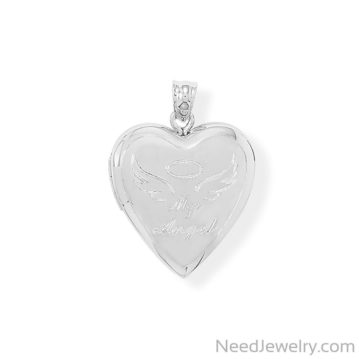 Item # [sku} - My Angel Memory Keeper Locket on NeedJewelry.com