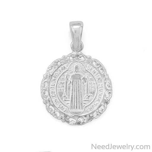 Item # [sku} - Reversible Saint Benedict Pendant on NeedJewelry.com