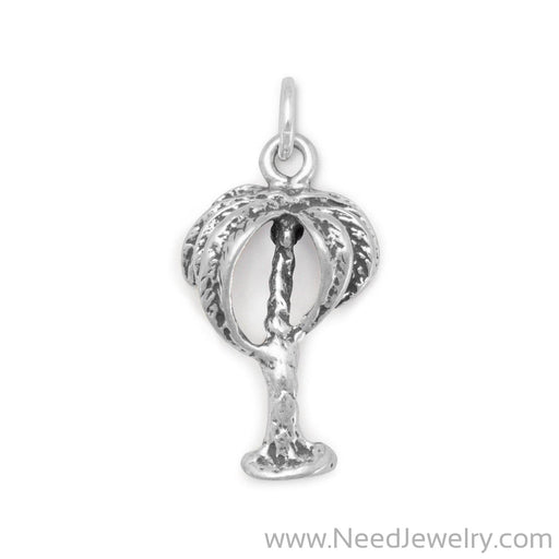 Palm Tree Charm-Charms-Needjewelry.com