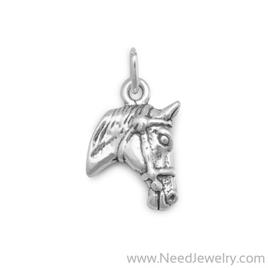 Horse Profile Charm-Charms-Needjewelry.com