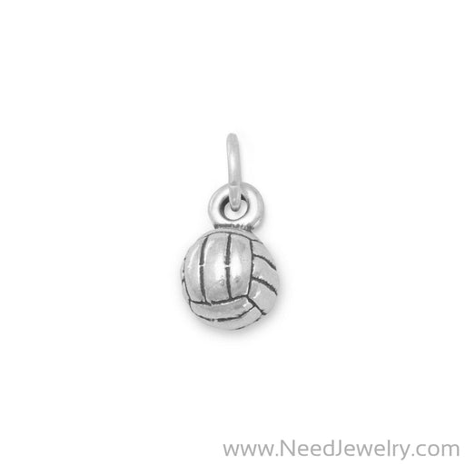 Small Volleyball Charm-Charms-Needjewelry.com