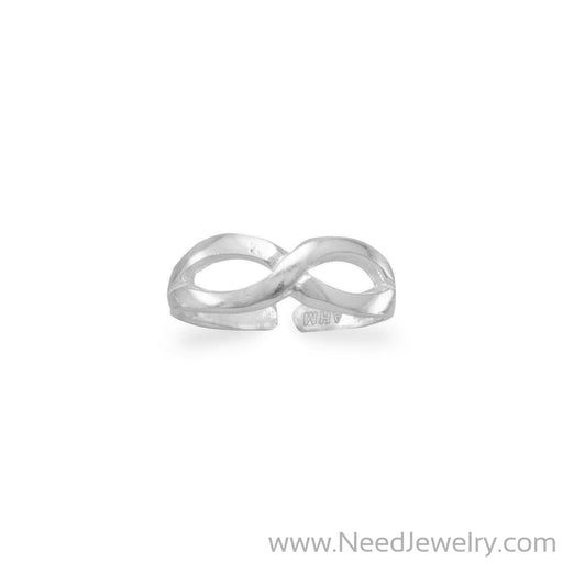 Infinity Design Toe Ring-Body jewelry-Needjewelry.com