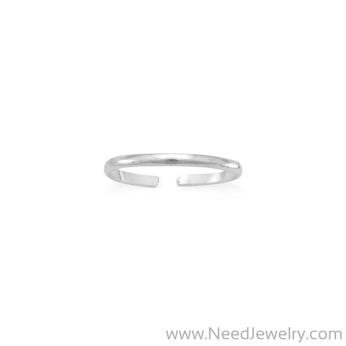 Thin Band Toe Ring-Body jewelry-Needjewelry.com
