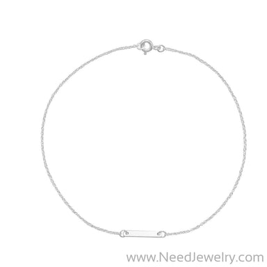 Tiny Bar Anklet-Bodyjewelry-Needjewelry.com