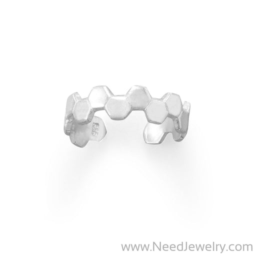 Honeycomb Toe Ring-Bodyjewelry-Needjewelry.com