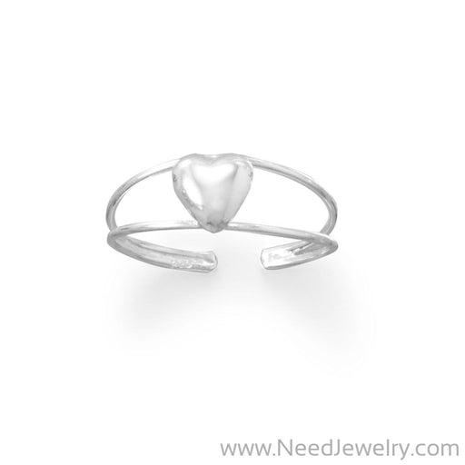 Sweet Heart Toe Ring-Bodyjewelry-Needjewelry.com