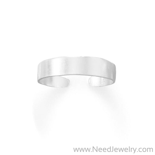 4mm Flat Band Toe Ring-Body jewelry-Needjewelry.com