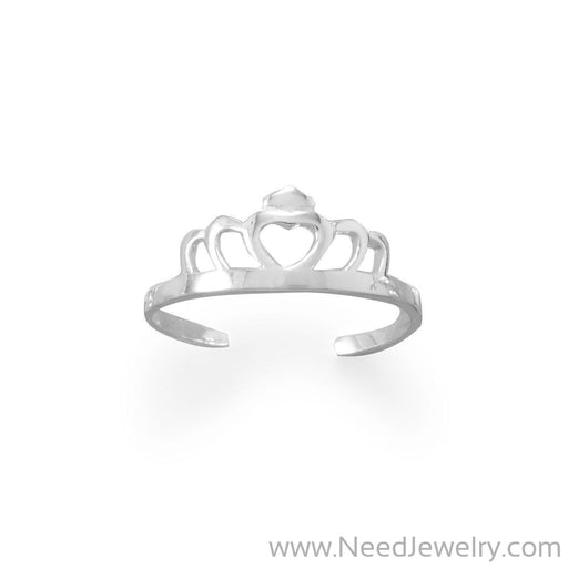 Princess Tiara Toe Ring-Bodyjewelry-Needjewelry.com