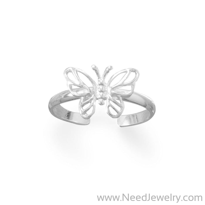 Pretty Butterfly Toe Ring-Bodyjewelry-Needjewelry.com