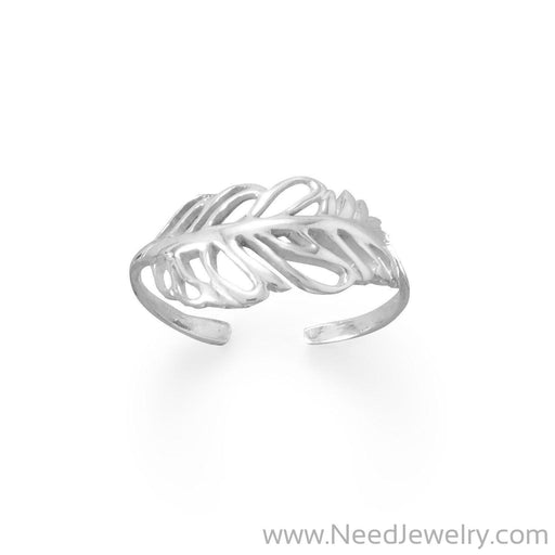 Feather Toe Ring-Bodyjewelry-Needjewelry.com