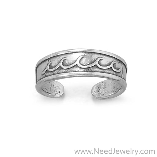 Make Some Waves! Toe Ring-Bodyjewelry-Needjewelry.com