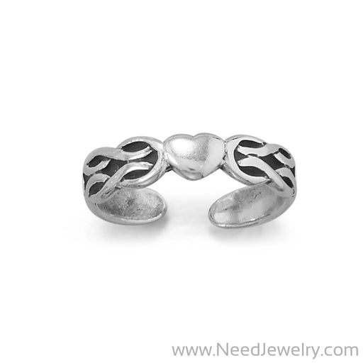 Lovely Celtic Heart Toe Ring-Bodyjewelry-Needjewelry.com