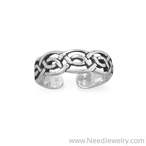 Celtic Design Toe Ring-Body jewelry-Needjewelry.com