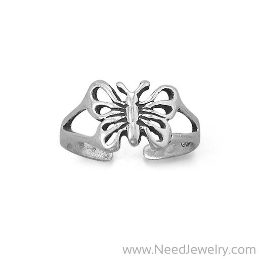 Sweet Butterfly Toe Ring-Bodyjewelry-Needjewelry.com