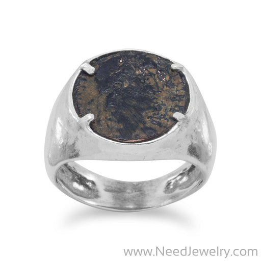 Ancient Roman Coin Ring-Rings-Needjewelry.com