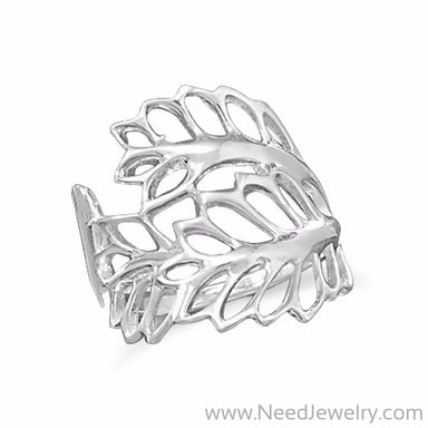 Cut Out Leaves Ring-Rings-Needjewelry.com