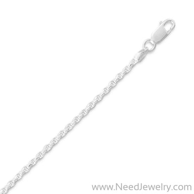 Diamond Cut Rope Chain (2.2mm)-Chains-Needjewelry.com