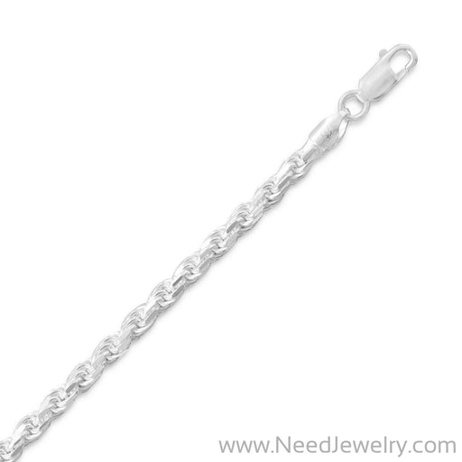 Diamond Cut Rope Chain (3.6mm)-Chains-Needjewelry.com