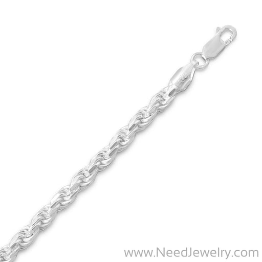 Diamond Cut Rope Chain (4.4mm)-Chains-Needjewelry.com