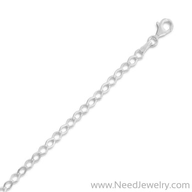Flat Diamond Shape Link Chain-Chains-Needjewelry.com