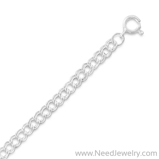 Light Charm Bracelet (5mm)-Chains-Needjewelry.com