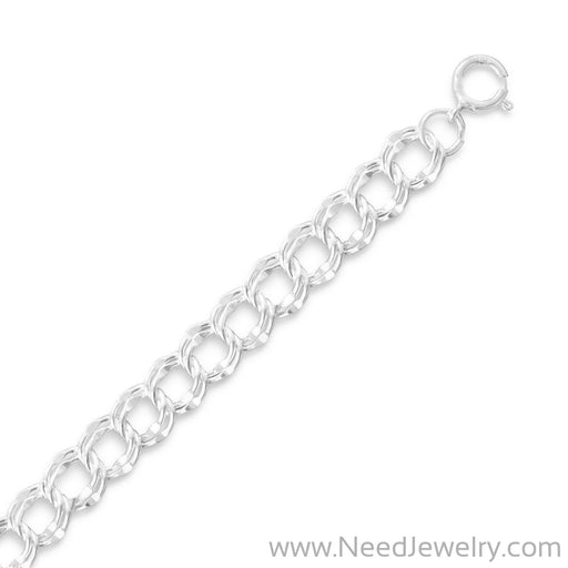 Medium Charm Bracelet (7.5mm)-Chains-Needjewelry.com