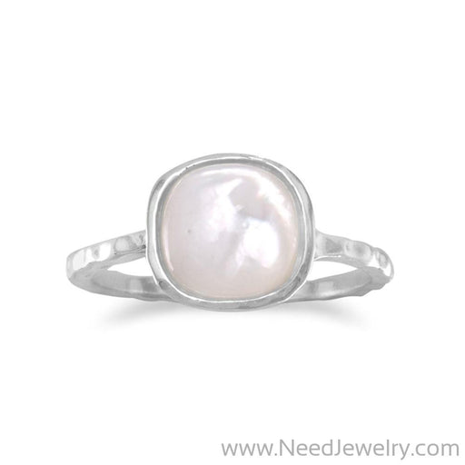 Mother of Pearl Stackable Ring-Rings-Needjewelry.com