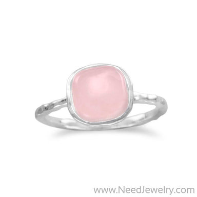 Rose Quartz Stackable Ring-Rings-Needjewelry.com