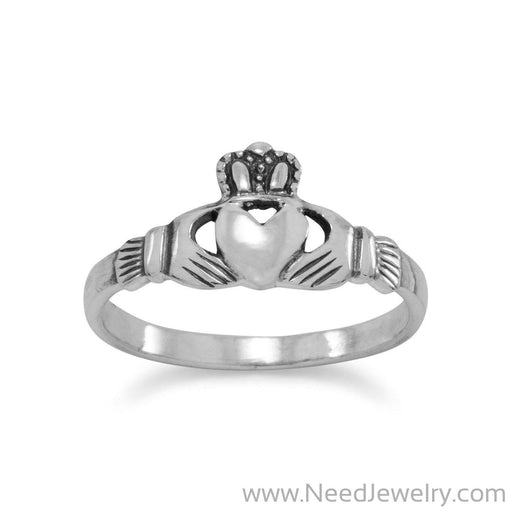 Small Claddagh Ring-Rings-Needjewelry.com